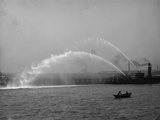 Fireboat 44 in Action Photo