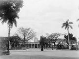 Plaza, Cienfuegos, Cuba Photo