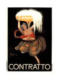 Contratto Poster by Leonetto Cappiello