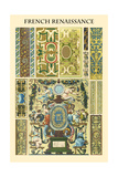 Ornament-French Renaissance Poster by  Racinet