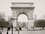 Washington Square and Memorial Arch, New York Foto