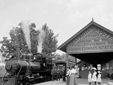 Catskill Mountain Railway Station, Haines Corners, Catskill Mountains, N.Y. Photo