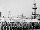 U.S.S. Brooklyn, Marine Guard Photo