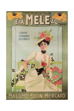Mele for Highest Fashion Poster von Aleardo Villa