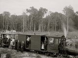 Excursion Logging Train, Harbor Springs, Mich. Photo