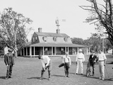 Golf at Manhansett I.E. Manhanset House, Shelter Island, N.Y. Photo