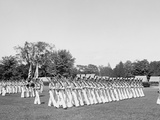 Battalion Passing in View, United States Military Academy, West Point, N.Y. Photo