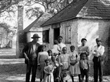 The Whole Black Family at the Hermitage, Savannah, Ga. Prints