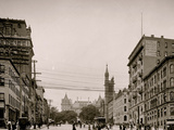 State Street and Capitol, Albany, N.Y. Photo