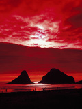 Sunset on the Rocky Oregon Coast Photo by Carol Highsmith