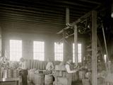 Glazier Stove Company, Grinding Room, Chelsea, Mich. Photo