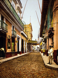 Calle De Havana, Havana Photo by William Henry Jackson