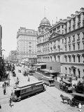 Grand Central Station and Hotel Manhattan, New York Photo