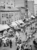 Jewish Market on the East Side, New York, N.Y. Photo