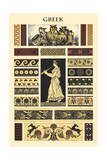 Ornament-Greek Prints by  Racinet