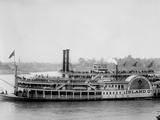 The Island Queen, Cincinnati, Ohio Print