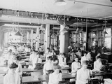 Typewriting Department, National Cash Register, Dayton, Ohio Photo