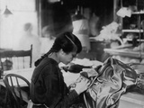 Dressmaker Photo by Lewis Wicks Hine