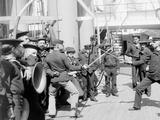 U.S.S. Newark, Sword Exercise Photo