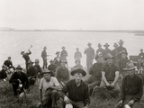 Boys of the 71st N.Y. at Montauk Point, after Returning from Cuba Photo