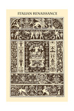 Ornament-Italian Renaissance Prints by  Racinet