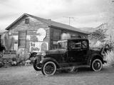 Old Car and Gas Pump-Hackberry General Store Photo by Carol Highsmith