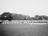 Dress Parade, Band Passing in Review, West Point, N.Y. Photo