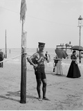 A Life Guard, Brighton Beach, N.Y. Photo