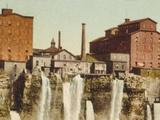 Niagara, Mills on American Shore Photo