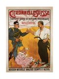 Citronelle Swiss Hygienic Lemongrass Drink 1902 Prints by E.L. Baud