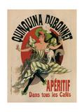 Quinquina Dubonnet Prints by Jules Chéret