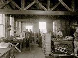 Glazier Stove Company, Oven Room, Chelsea, Mich. Photo