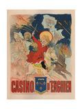 Casino De Enghien Poster by Jules Chéret