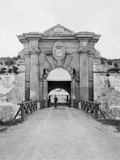 Entrance to Cabanas Castle, Havana Photo