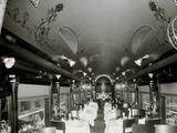 Dining Car, D.L. W. R.R. Delaware, Lackawanna and Western Railroad Photo