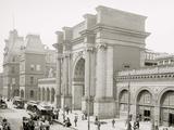 North Station, Boston, Mass. Poster
