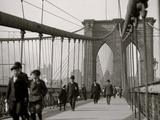 New York, N.Y. Brooklyn Bridge Photo