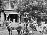 Bi-Centenary Celebration, Floral Parade, Carriage of Mrs. S.M. Dudley, Detroit, Mich. Photo