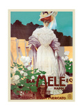 People of Status Shop at Mele Poster von Leopoldo Metlicovitz