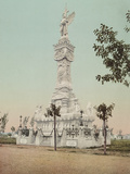 Monumento a Los Bomberos, Havana Prints by William Henry Jackson