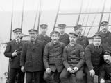 U.S.S. Boston Petty Officers Photo