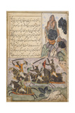 Babur Marches from Kabul to Hindustan Prints