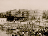 La Marina from Wharf, San Juan, P.R. Photo