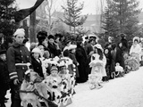 Midwinter Carnival, Childrens Parade, Upper Saranac Lake, N.Y. Photo