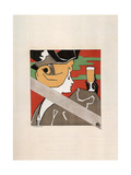 Le Bock De Koekelberg Print by Emile Berchmans