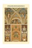 Ornament-Italian Renaissance Print by  Racinet