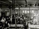 Richmond Backus Co. Print Shop, Detroit, Mich. Photo