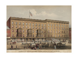 American House Hotel - Hanover Street Print by Lewis Rice
