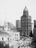 City Hall and World Building, New York Photo