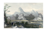 Seven Star Mountains Prints by Thomas Allom